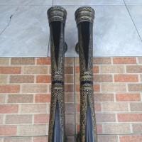 Pull handle / Handle Pintu Aluminium Black Antik Motif Ukir 55 cm