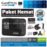 GoPro Hero 7 Black Edition Paket Hemat Hero7 4K 60FPS Garansi Resmi