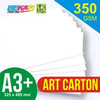 Kertas Art Carton 350 gram A3+ (32.5 x 48.5 cm)
