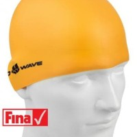 Topi Renang Mad Wave Intensive Silicone Solid Kuning