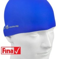 Topi Renang Mad Wave Intensive Silicone Solid Biru