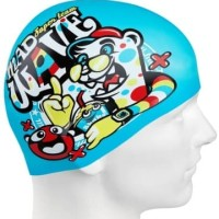 Topi Renang Anak Silicone Mad Wave Super Team