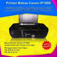 Printer Bekas Canon IP1880 KOSONGAN