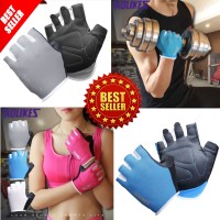 PROMO Sarung Tangan Gym Fitness Pria Wanita Gloves Sport Olahraga