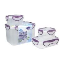 Clip Fresh Food Storage/Kotak Makan 4pcs Set (CFPPST1011)
