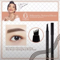 Madame GIE Silhouette Natural Brow BPOM Original / Eyebrow Tatoo