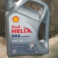 Limited Oli SHELL HELIX HX8 Sae 5w30 Galon 4Liter