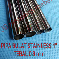 Harga pipa bulat stainless 1 pipa bulat 25 mm panjang 1 | WIKIPRICE INDONESIA