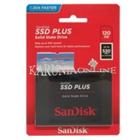 Best SANDISK SSD PLUS Solid 120GB SPEED UP/TO 530MB/S