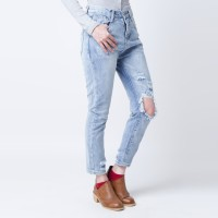 Celana Ripped Jeans Baggy Merongshop