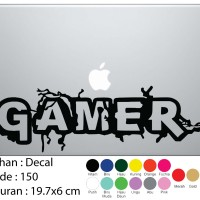 Sticker Decal Laptop / Mobil Gamer