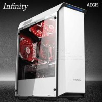 POWER BY ASUS GAMING PC AEGIS SHOW WHITE