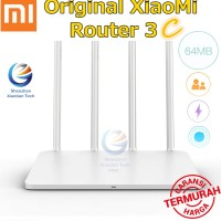 Xiaomi Wifi Router 3c 802.11ac 300Mbps 2.4G 4 Antenna Repeater Booster
