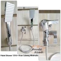 AKSESORIS KAMAR MANDI Paket Shower / Shower Mandi / Kran Cabang