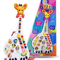 Mainan Anak Lucu Edukasi Gitar jerapah