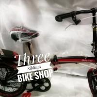 Sepeda Lipat Anak Odessy 16 Inch Model Baru