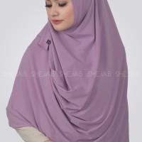 Jilbab Panjang Hijab Syari Shejab Phasmina Plain Instan Warna Baru Or