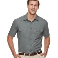 C&B Outdoor Shirt DARK GREY BIGSIZE - Kemeja PDL Lapangan JUMBO SIZE
