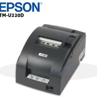 PRINTER DOT MATRIX EPSON TMU220 D - TM 220 D - 220D ( MANUAL CUTTER )