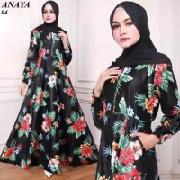 Baju Gamis Wanita Terbaru 04 Busana Muslim Wanita Dress Syari Gamis