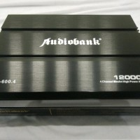 Car Audio Mobil High Power Amplifier 4 Channel Audiobank Ab600.4