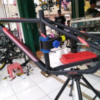 Frame 27.5 United Speed Black Size M - Batangan Sepeda Gunung Mtb