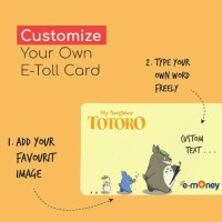 PROMO CUSTOM KARTU E-MONEY MANDIRI E-TOLL EMONEY ETOLL DESIGN BEBAS