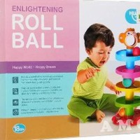 Promo Roll The Ball - Mainan Bayi Mainan Bola Luncur -Jb 1031 dia
