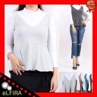 Harga baju atasan wanita blouse wanita lengan panjang | Hargalu.com