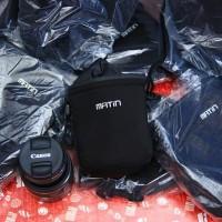 Harga paling laris new matin lens pouch sarung lensa ukuran   WIKIPRICE INDONESIA