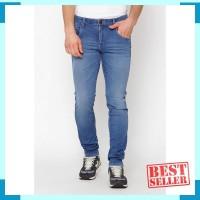 Harga lee cooper men s norris 360 slim fit jeans mid   Hargalu.com