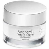 Wardah White Secret Night Cream Krim Malam Wajah 30gr