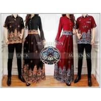 Baju gamis Remaja AB Agen Baju Official Shop - couple batik ANNA