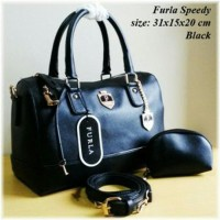Tas Fashion Wanita Furla Speedy Speddy Set Dompet Murah
