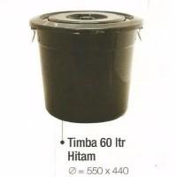 Tong Air Ember Timba Tutup Hijau 30 Liter