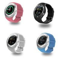 Y1 Smartwatch Pria / Wanita Bentuk Bulat untuk Bisnis