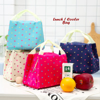 Lunch / Cooler Bag Motif LOVE (dilengkapi 2 pcs jelly ice cooler)