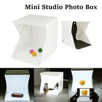 Photo / Foto Studio Mini Lipat Smartphone Dslr Putih / Hitam Large