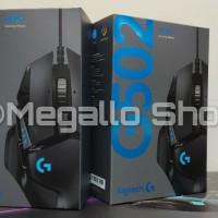 Logitech G502 Hero High Performance Gaming Mouse Garansi Resmi 2 tahun