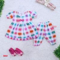 Setelan Baby Berry 0-12 Bulan / Baju Bayi Anak Perempuan New Born