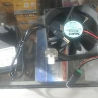 Kipas Aquascape / Aquarium 8 x 8 cm bekas komputer ampere kecil