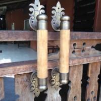 Pine Door Handle / Handle Cemara 43 cm - Brass Antique