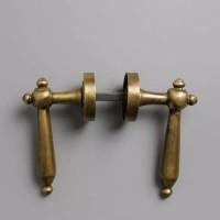 Handle Pintu Antik / Handle Engkol Dominic Brass