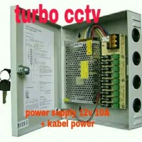 Power supply SPC box 10a panel besi metal big promo termurah
