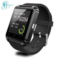 U8 Smartwatch Bluetooth Warna Hitam Untuk Android/Ios Iphone Samsung