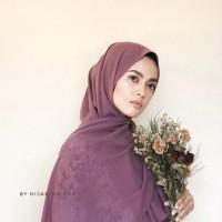 Hijab Pashmina Sabyan Jilbab Pasmina Diamond Georgette Murah
