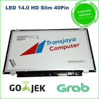 Layar lcd led laptop notebook HP 14-R019tu LED 14.0 SLIM 40pin ORI