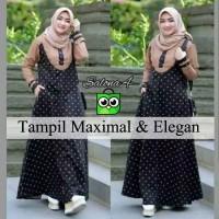 Baju Gamis Pesta Syari Wanita Murah Terbaru / Busana Muslim