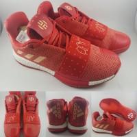 c99edf764ff00 Sepatu Basket Adidas James Harden XIII Volume 3 Low Rose Red Gold