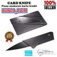 PISAU LIPAT MINI DF49 CARD KNIFE STAINLESS / ATM SHARP PISAU MINI